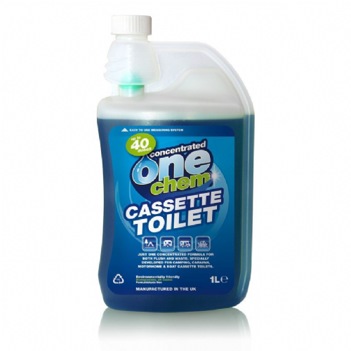 One Chem Concentrated Cassette Toilet Treatment - 1 Litre